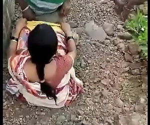 Desi Indian aunty fucking outside 46 sec