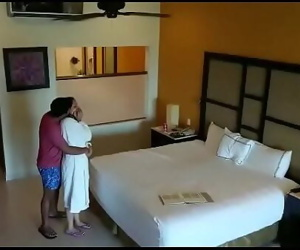Spy camera caught husband wife having sex in hotel room 96 sec