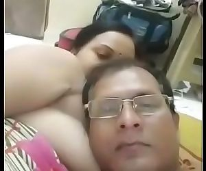 Indian Couple Romance with Fucking - 4 min