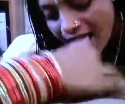Desi two Indian girl and boss very lucky