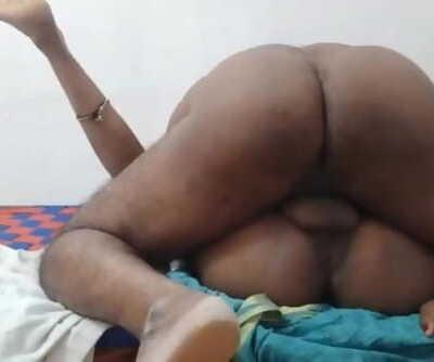 Horny Hot sexy dhanam cheating bhabhi getting fucking husband friend