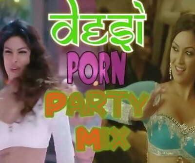 Desi PORN Party Mix - PMV Sample WIP - Brown Skin 2