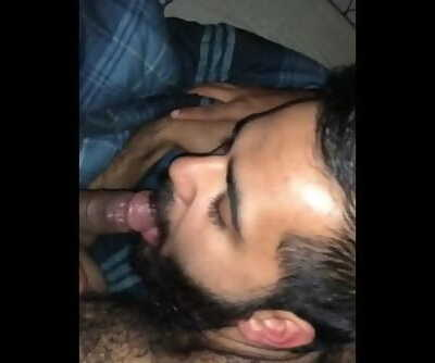 College Hairy Indian Sucks off High School Black Friend