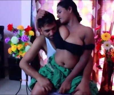 Hot Desi Shortfilm 131 - Face Buried in Big Boobs, Boob Kiss, Deep Cleavage
