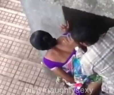 Indian Public Sex Caught in Hidden Camera