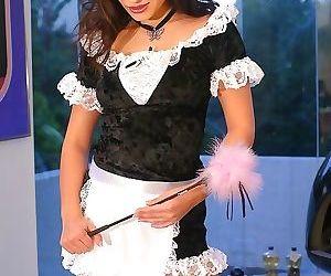 A tight asian maid gets her butt banged balls deep - part 323