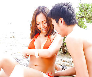 Erotic japanese sex on the beach - part 4204