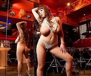 Asian hitomi tanaka dresses up as a showgirl - part 4199