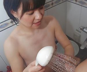 Saucy asian MILF Sae Aida enjoys hard fucking ending with creampie