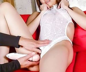 Asian babe riina fujimoto sucks cocks till facials - part 753