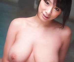Young asian hana haruna washing her big tits - part 1216