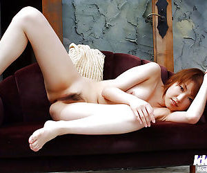 Short-haired asian amateur uncovering her tempting curves - part 2