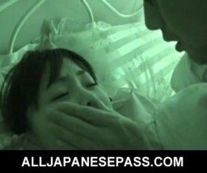 Sleeping angel Hikaru Momose has..