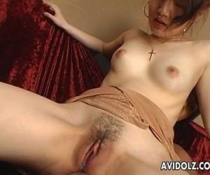 Japanese girl toyed with and..