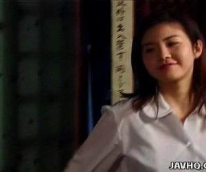 Asian hottie Tsukasa Okada nailed..
