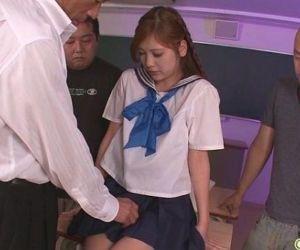 Schoolgirl Yura Kasumi is a hot..