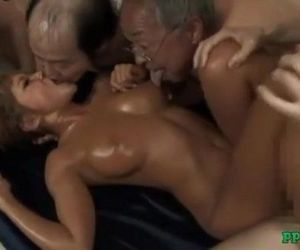 Hot Tanned Asian Girl Fucked By..