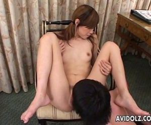 Sexy Asian Slut Double Blowjob..