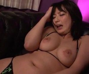 Erotic porn play along brunette..