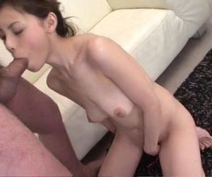 Serious blowjob in POV style with..