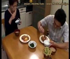 Mature japanese stepmom know..