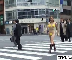 JAV public nudity..
