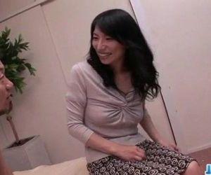 Yukari brunette Japanese gets..