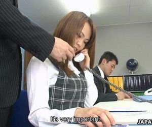 Asian office lady Saki squirting..