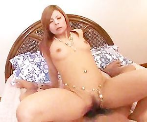 Japanese Slut Feeling Up 2 Cocks