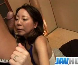 Sachiko Asian mature gets fucked..