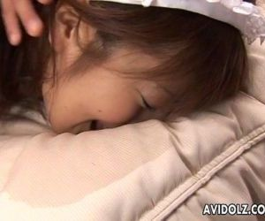 Kinky Akane Mochida nailed hard -..