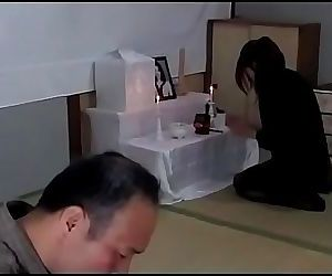 Japanese drunk husband wants to..