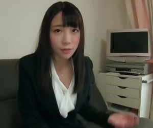 Sexy Japanese Office Lady, Tomita..