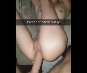 Asian cheating on snapchat big dick