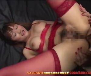 Japanese girls extreme Cum play -..