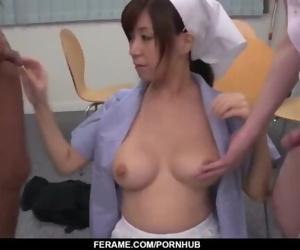 Cute nurse sucks..