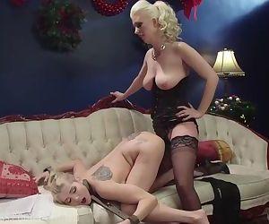 Lesbian BDSM Christmas Miracle