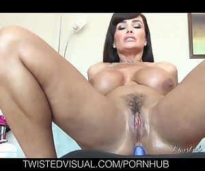 Dana Vespoli pounds the ass of Lisa Ann with Strap On Dildo