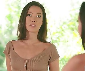 Stepmom India Summer having lesbian sex with Karlee Grey..