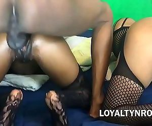SISTERS SEDUCE MONSTER COCK!! For WEED!! 17 min HD