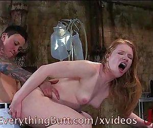 Hot Lesbian Anal Play