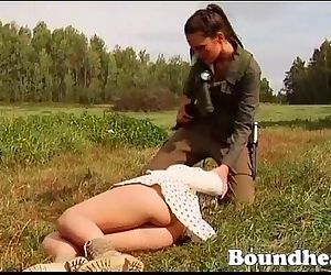LESBIAN SLAVE HUNTRESS PART ONE
