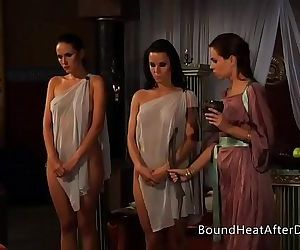 Lesbian Slaves Revenge: A Dream of ThreesomesHD