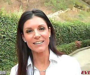 EvilAngel Hot MILF India Summer Lesbian Anal POVHD