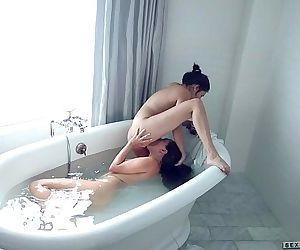 Shyla Jennings and Jenna Sativa at Sextape LesbiansHD