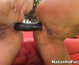 Natashas 1st Anal with Asa - 6 min