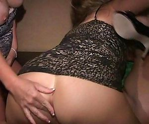 Tipsy PAWG MILFs Ann, Tia and Lola suck each others cunts..