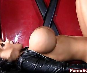 European Dom Puma Swede Disciplines Slut Amy! - 7 min HD