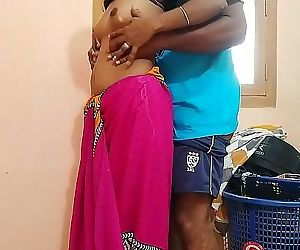 Cheating housewife surprised by to salesman satisfied 11..