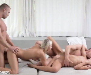 Teen best friend foursome